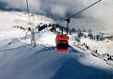 SKIING IN GULMARG, KASHMIR