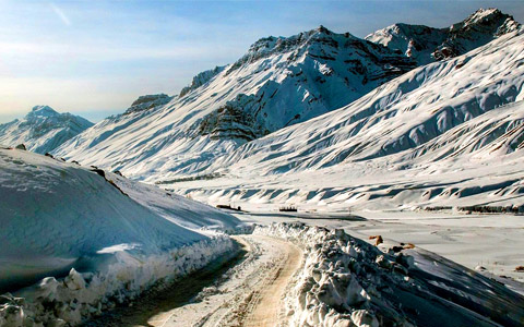 The Spiti Winter Safari